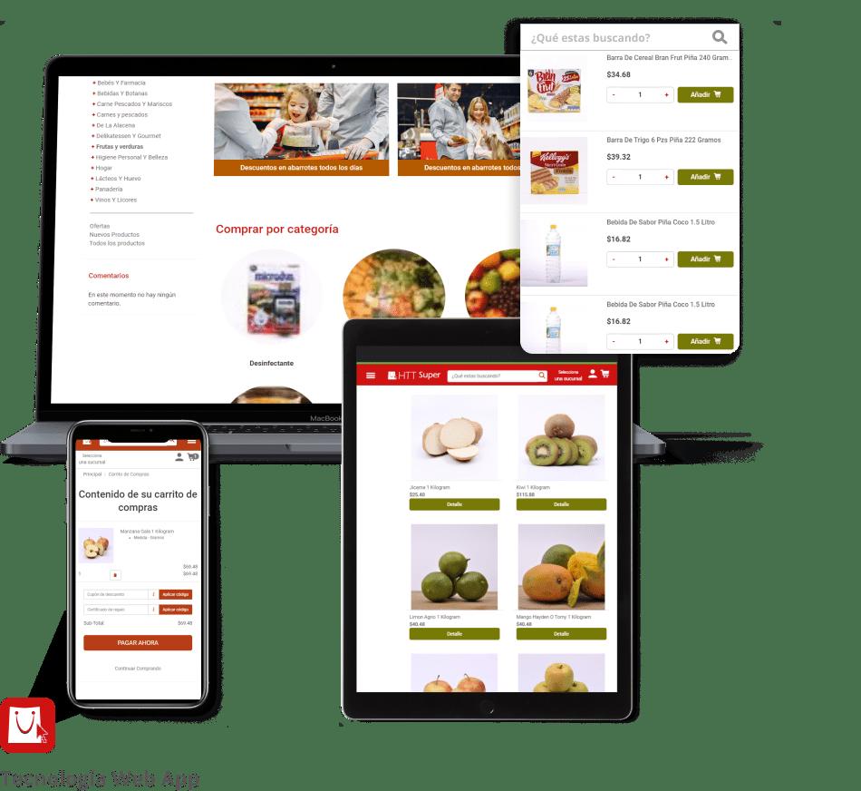 tienda online supermercados